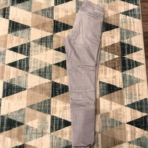 GAP Grey Pants with Ribbed Knee Patches